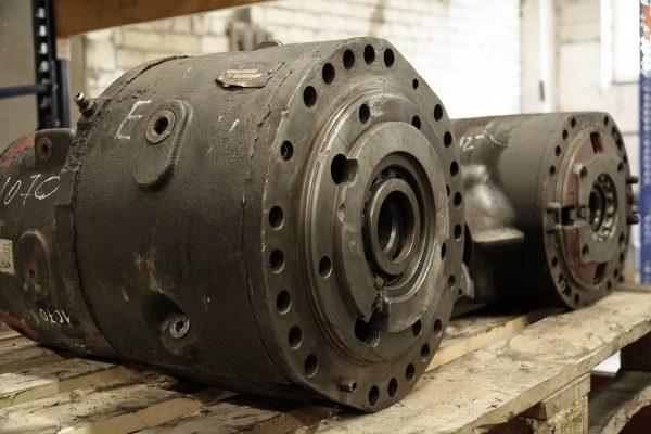 Axles, Bogies, Driving parts